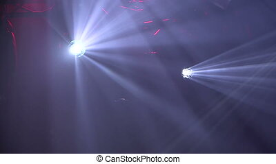 Stage Lights abstract background