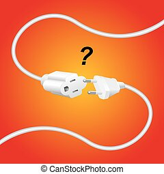 Extension Cable Improper Plug - Improper extension cable and...