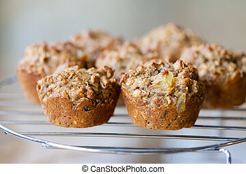 Morning Glory Muffins - Homemade Morning Glory muffins...