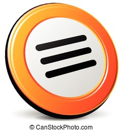 expand icon - illustration of expand 3d design orange icon