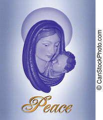 Nativity Christmas Peace - Image and illustration...