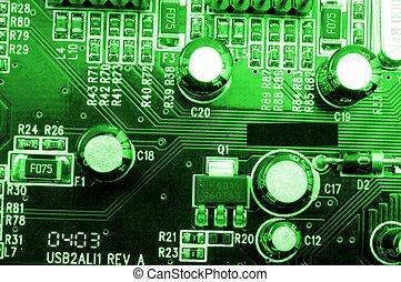 high tech computer equipment - modern high tech computer...