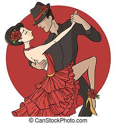 Dançarinos,  Tango