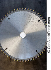 saw blade part of