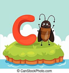 Illustrator of Letter C - Illustrator of Letter 'C is for...