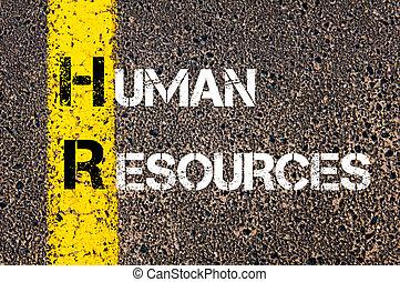 empresa / negocio, siglas, hora, humano, recursos,