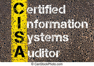 Business Acronym CISA Certified Information Systems Auditor...