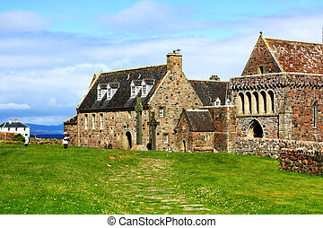 Iona, Scottish Island in summertime