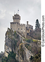 De La Fratta or Cesta tower, San Marino - De La Fratta or...