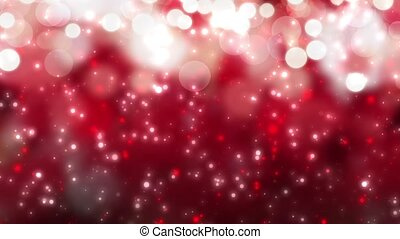 christmas red background with bokeh