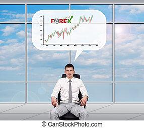 股票, 成功, 交換