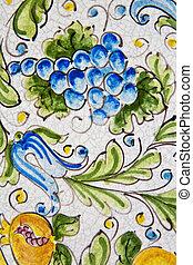 Sicilian ceramics - The Sicilian ceramics of Caltagirone....