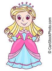 Little cute princess pink