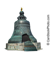 The King Bell or Tsar Bell in Moscow Kremlin, Russia
