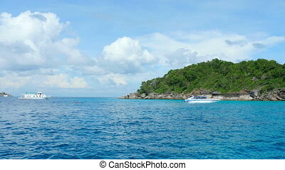 Seascape - Near Similan Islands, Andaman Sea