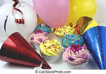 party cake scene