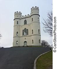 Lawrence castle - Haldon Belvedere, Exeter, Devon, UK March...