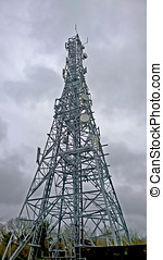 mast - TV radio and mobile communications mast