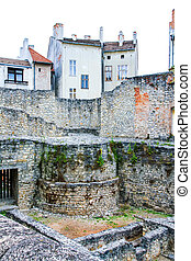 Archeological site in Sopron - Archeological site in Sopron,...