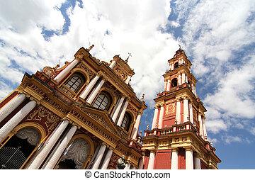Saint Francis Church in Salta - The Saint Francis Church in...