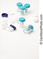 Eye Hygiene Care - set of contact lens cases