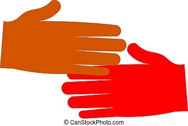 Shake hands - shaking hands
