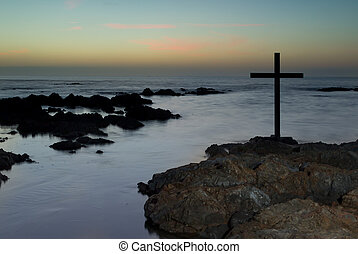 After Sunset Cross