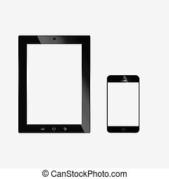 Tablet pc and mobile smart phone