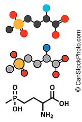 Glufosinate (phosphinothricin) nonselective herbicide...