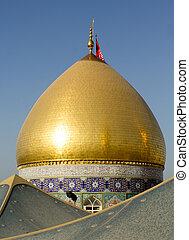 The shrine of Imam Abbas