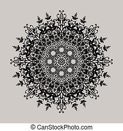 vintage lace frames. vector illustration