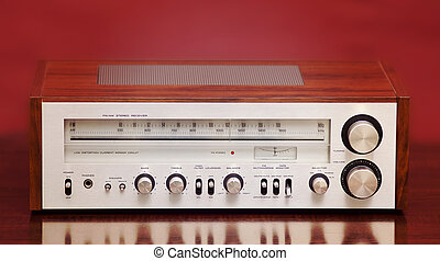 Vintage Stereo Radio Receiver