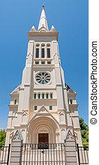 Dutch Reformed Church, Noorder-Paarl - Vertical panorama of...