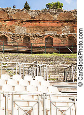 Taormina - Historic teather of Taormina Sicily, Italy