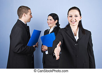 Business people relationships - Business people relationship...