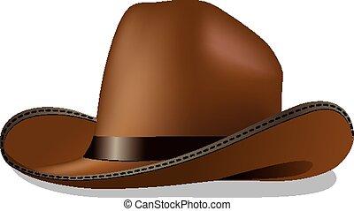 vaquero, sombrero,