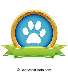 Gold animal logo