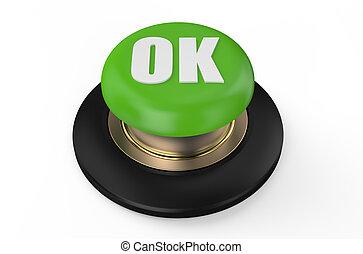 Green ok button