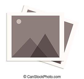 Retro Photo Frame Icon