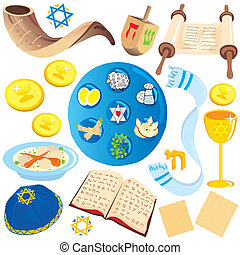 jewish clip art icons and symbols - Big variety of jewish...