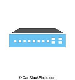 Networking Switch - Networking switch, network, router icon...