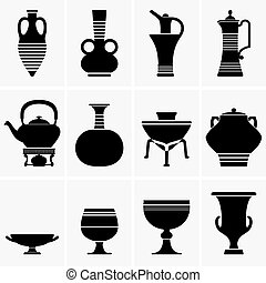 Ancient crockery