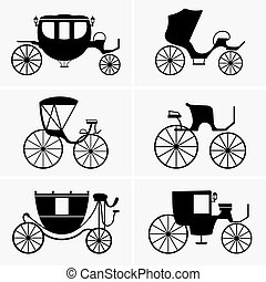 Carriages - Set of Carriages