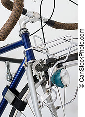 Close up of Touring Bicycle