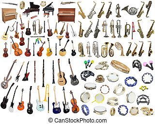 Música, instrumentos,
