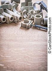Organized Copyspace Big Composition Polypropylene Fixators...