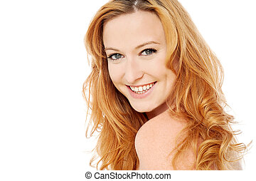 Do you like my new hair color ? - Beautiful woman with...