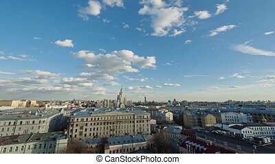View of Moscow from the roof in the center - View of Moscow...