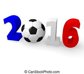 France 2016 Soccer championship - European soccer...