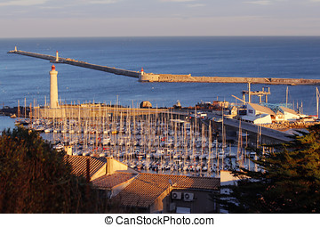 Sete, town in France - Sete is a small industrial town in...